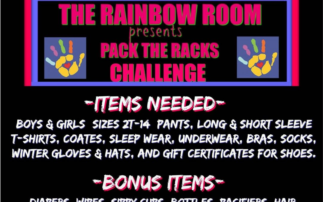Pack the Racks clothing drive
