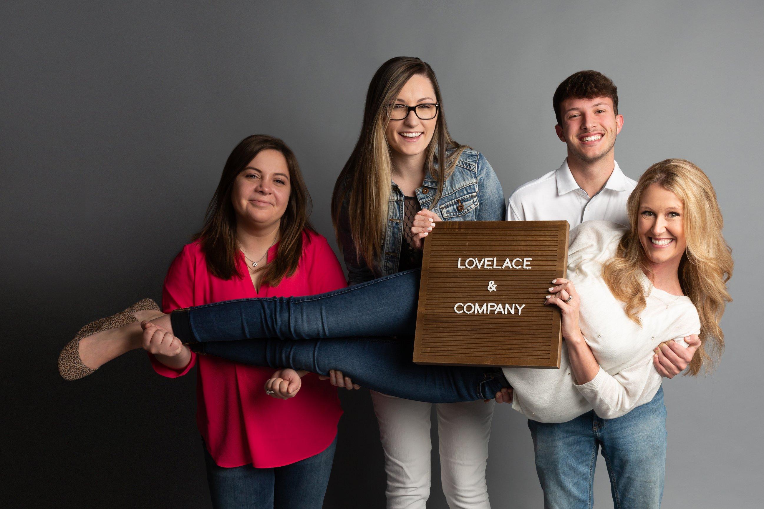 Trust Love Lace Team